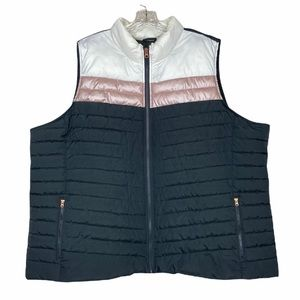 Maurices Colorblock puffer vest